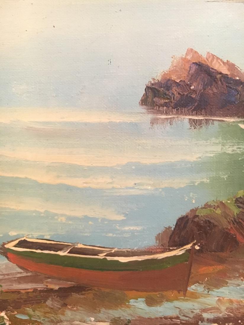 Oil on Board Oceanside - 3