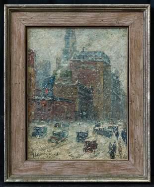 Guy Carleton Wiggins (1883 - 1962) New York,
