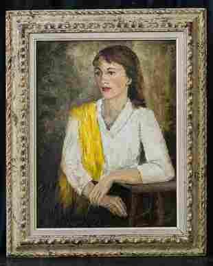 Sha Qi Sadji (1914 - 2005) China, Belgium Listed Artist