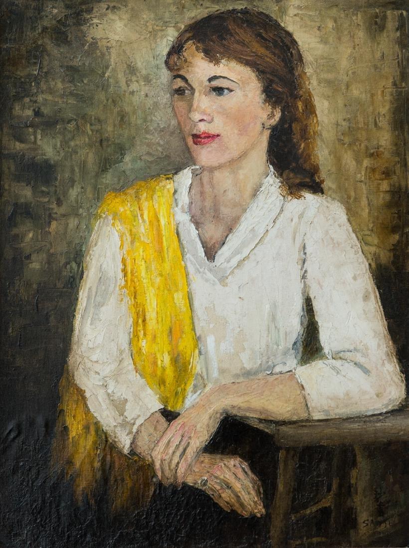 Sha Qi Sadji (1914 - 2005) China, Belgium Listed Artist - 2