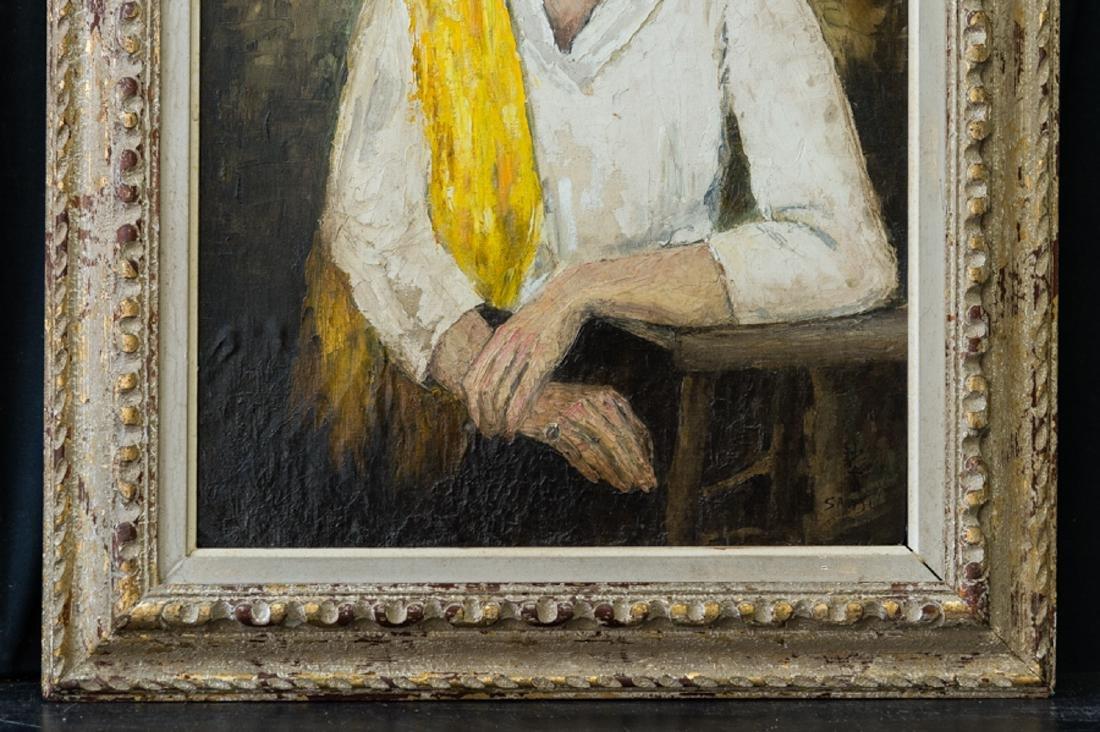 Sha Qi Sadji (1914 - 2005) China, Belgium Listed Artist - 4