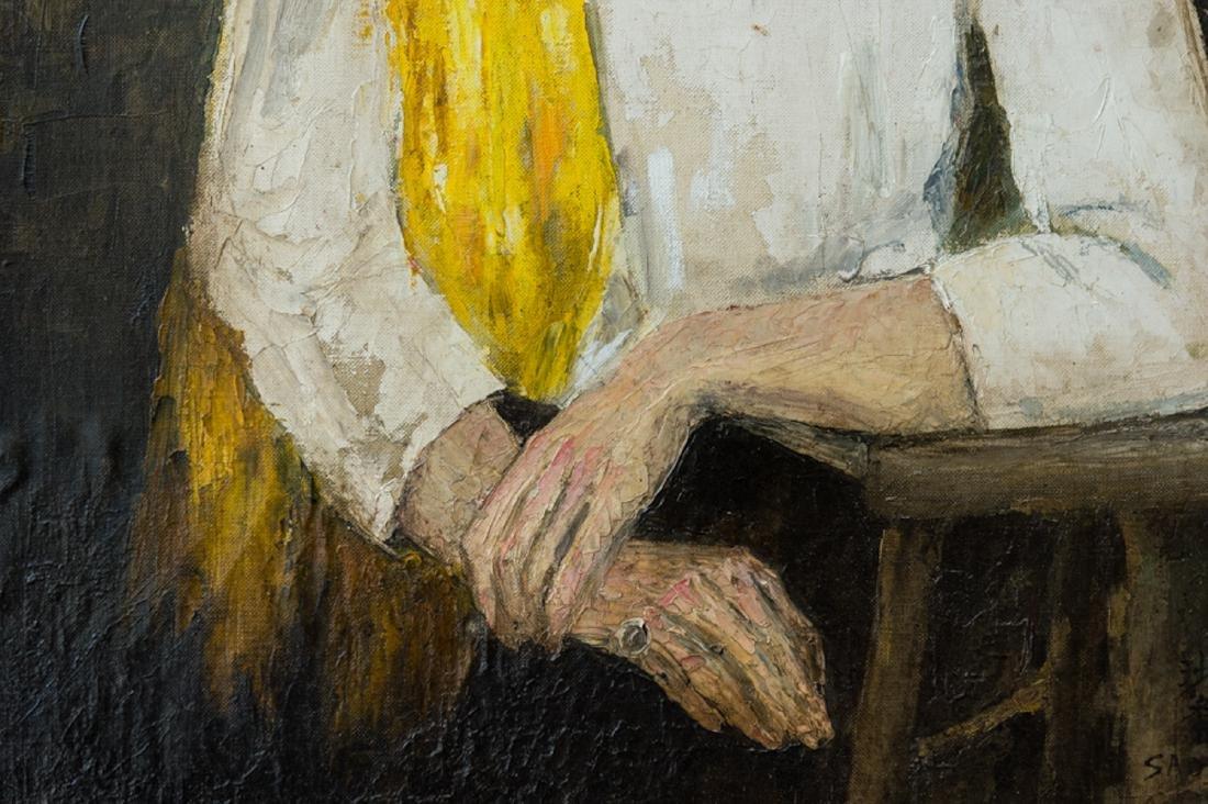 Sha Qi Sadji (1914 - 2005) China, Belgium Listed Artist - 6