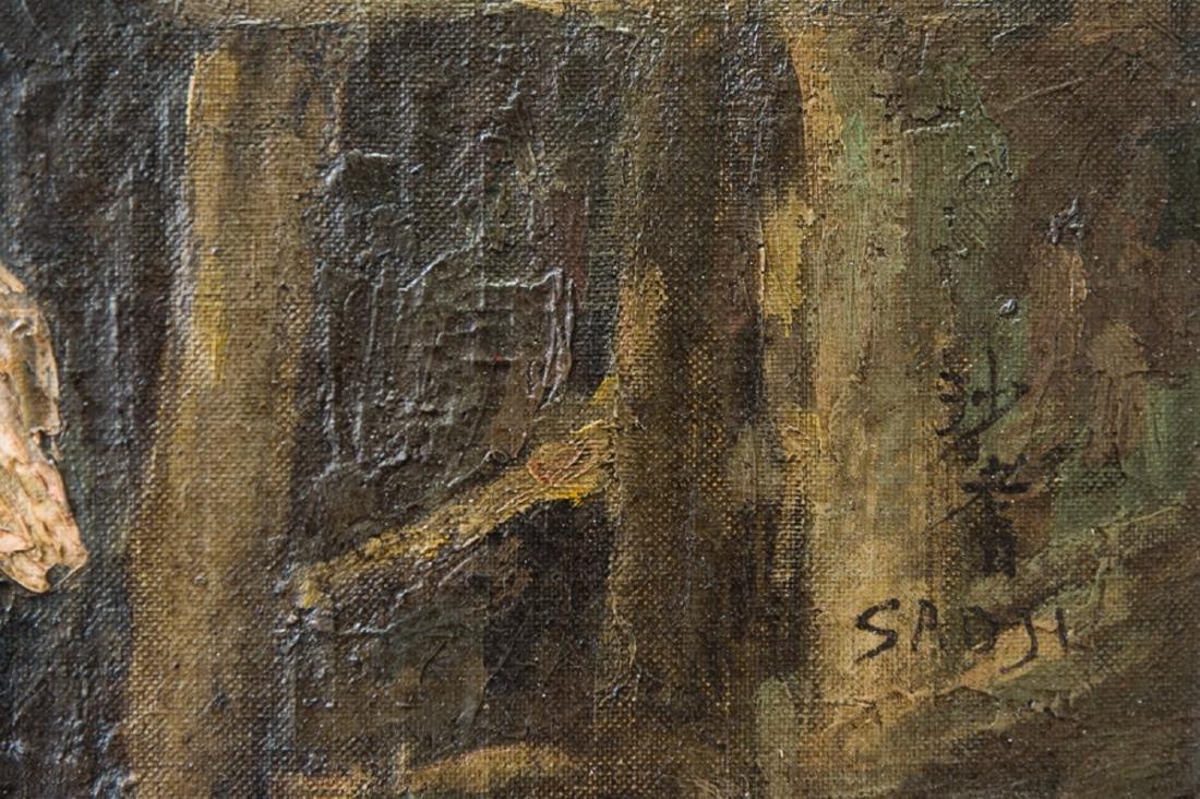 Sha Qi Sadji (1914 - 2005) China, Belgium Listed Artist - 9