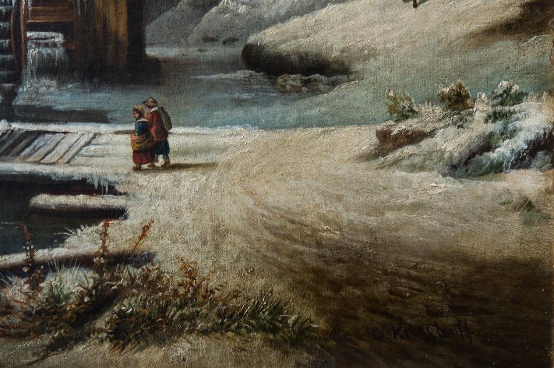 Cornelius David Krieghoff (1815 - 1872) Quebec, - 10