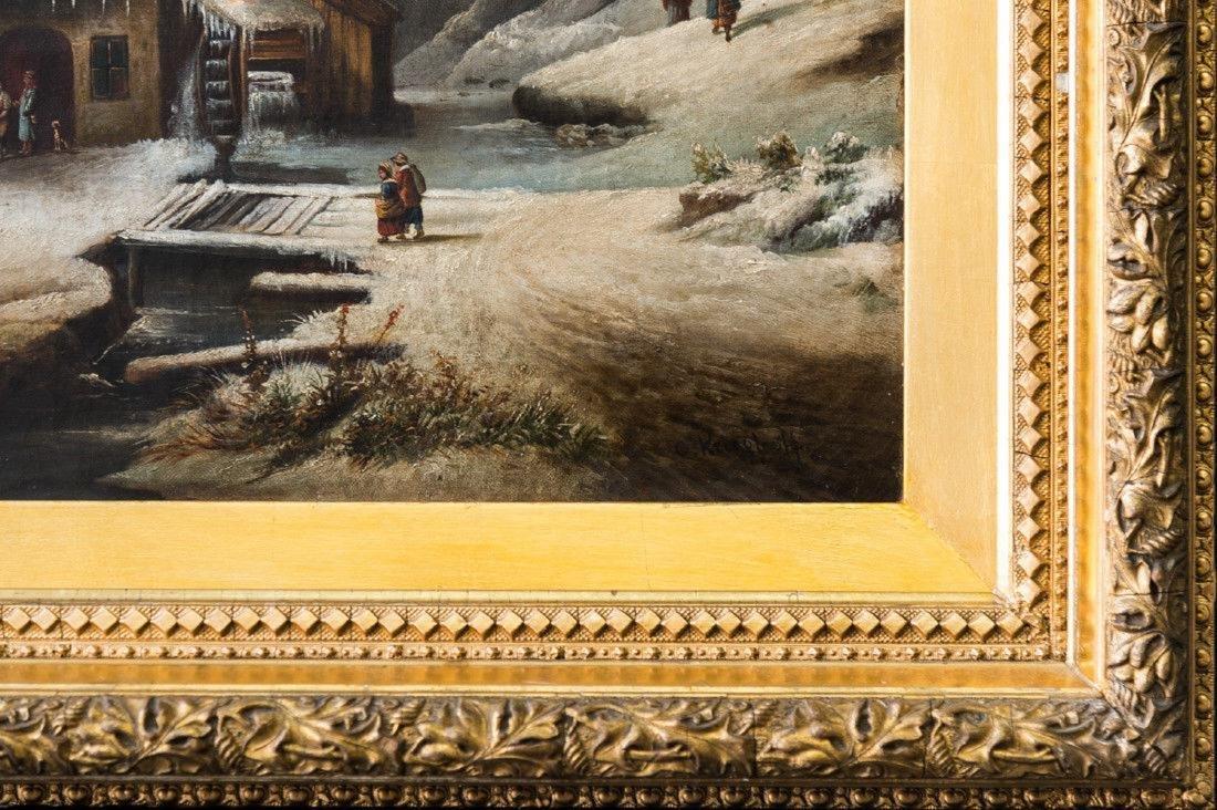 Cornelius David Krieghoff (1815 - 1872) Quebec, - 5