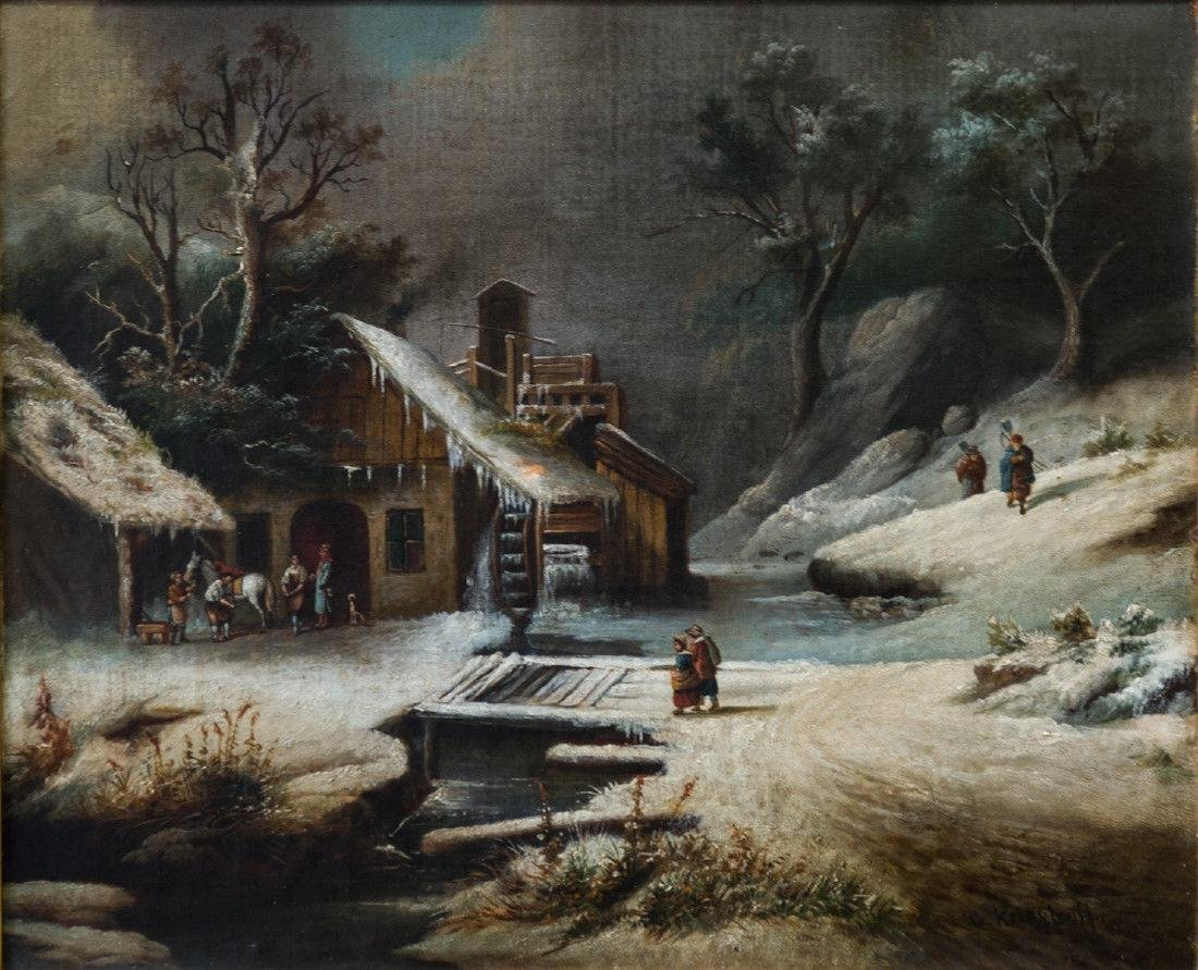 Cornelius David Krieghoff (1815 - 1872) Quebec, - 7