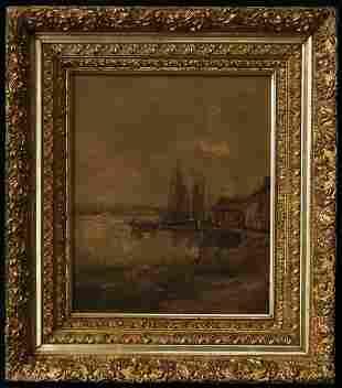 Frank Henry Shapleigh (New Hampshire 1842 - 1906) | Oil