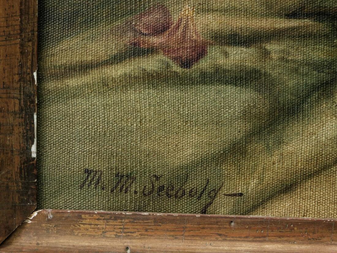 Marie Molinary ( Louisiana 1866 - 1948) | Oil / Canvas, - 10