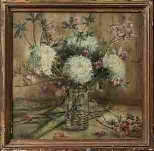 Marie Molinary ( Louisiana 1866 - 1948) | Oil / Canvas,