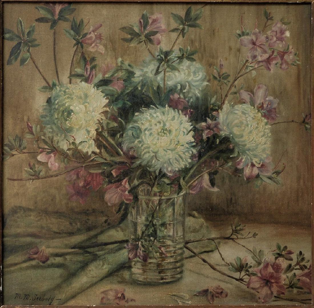 Marie Molinary ( Louisiana 1866 - 1948) | Oil / Canvas, - 2