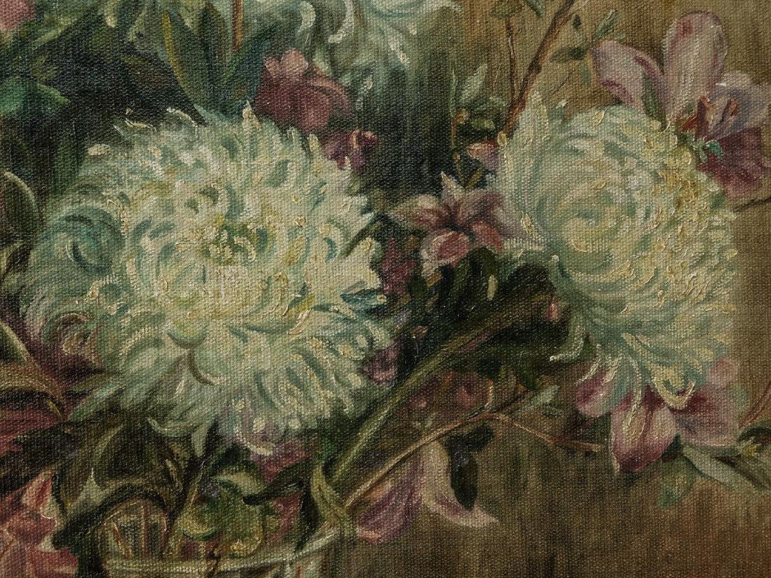 Marie Molinary ( Louisiana 1866 - 1948) | Oil / Canvas, - 8