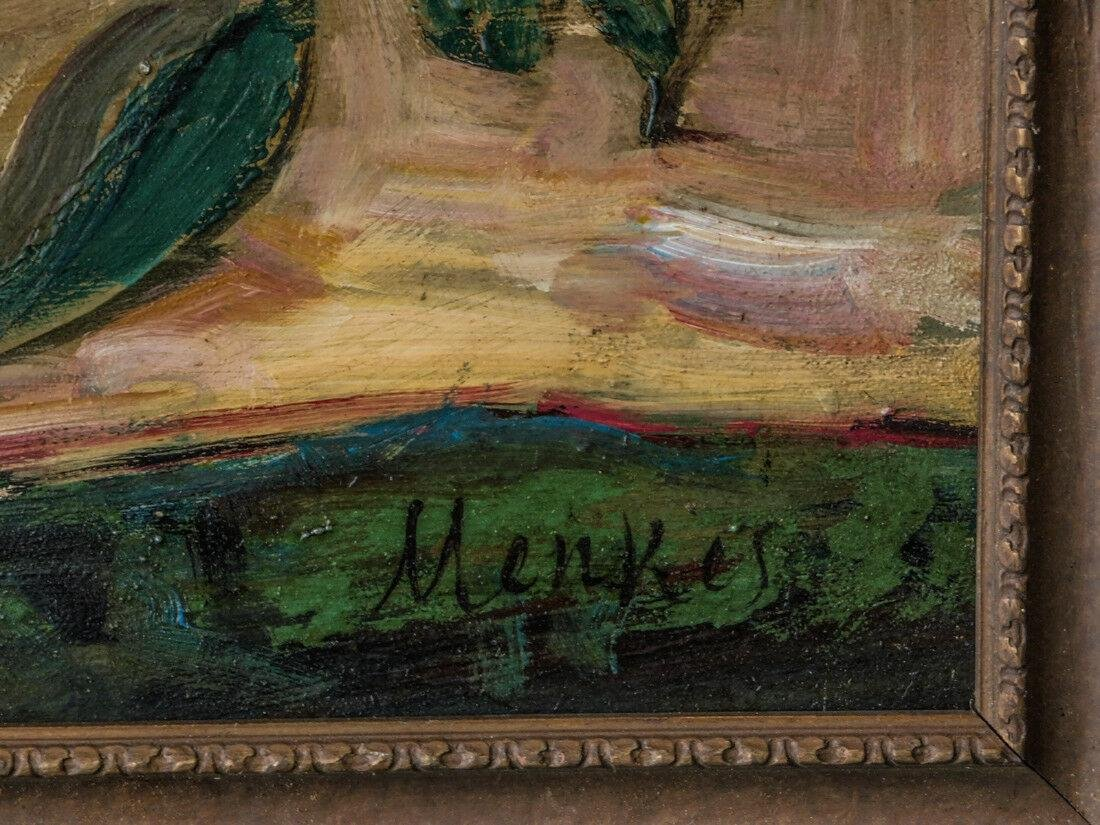 Sigmund Menkes ( New York / Poland 1896 - 1986) | Oil / - 10