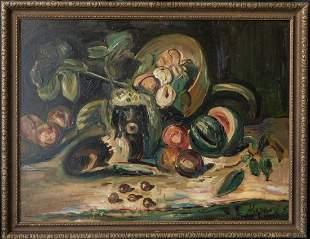 Sigmund Menkes ( New York / Poland 1896 - 1986) | Oil /
