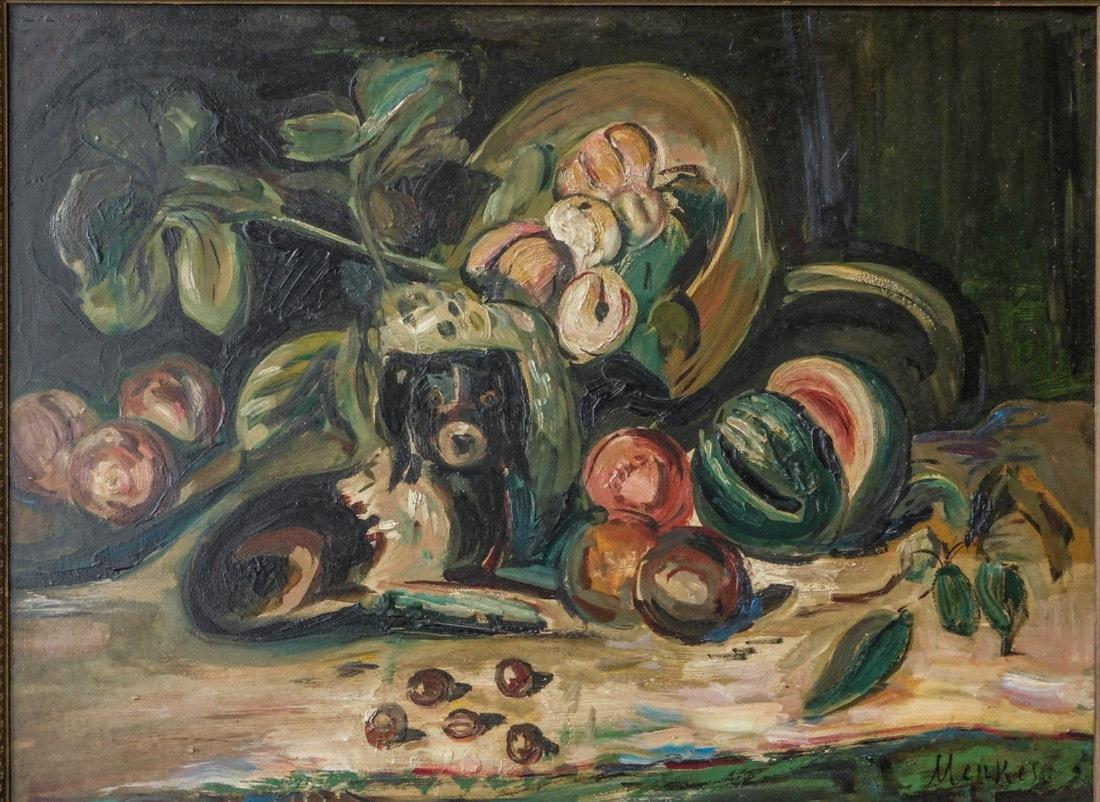 Sigmund Menkes ( New York / Poland 1896 - 1986) | Oil / - 2