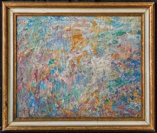 Shirley Goldfarb (New York / France. 1925 - 1980) | Oil