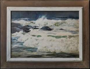 Gustave Cimiotti Jr (New York 1875 - 1969) | Oil /