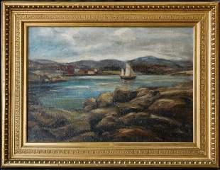 Armin Carl Hansen N.A. (1886 - 1957 Monterey, CA)