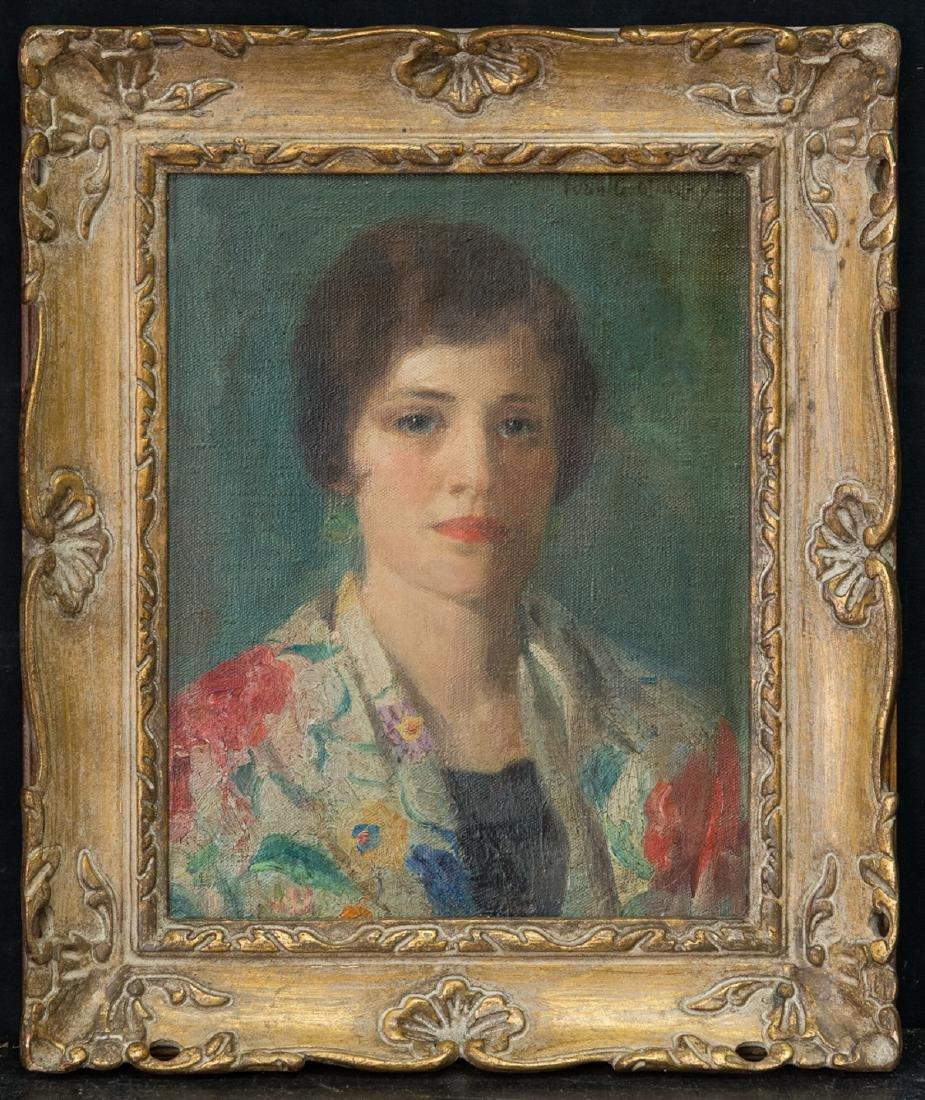 Ivan Olinsky (1878 - 1962) New York Listed Artist Oil