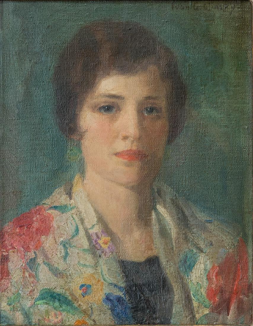 Ivan Olinsky (1878 - 1962) New York Listed Artist Oil - 2