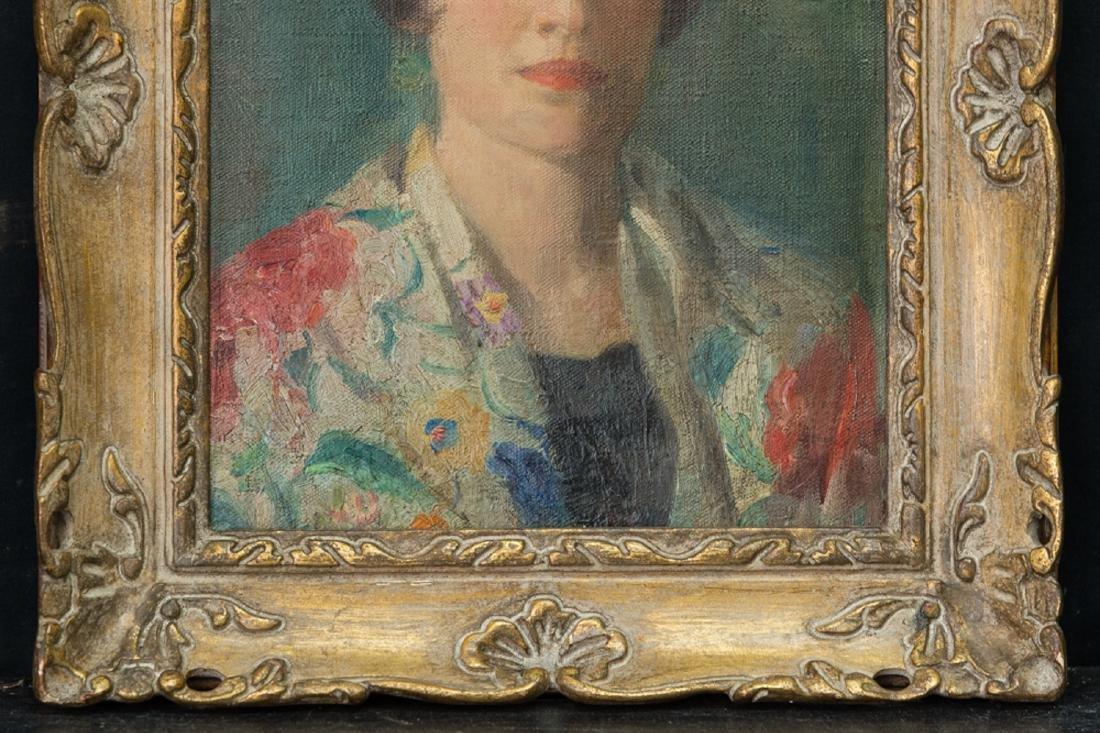 Ivan Olinsky (1878 - 1962) New York Listed Artist Oil - 4