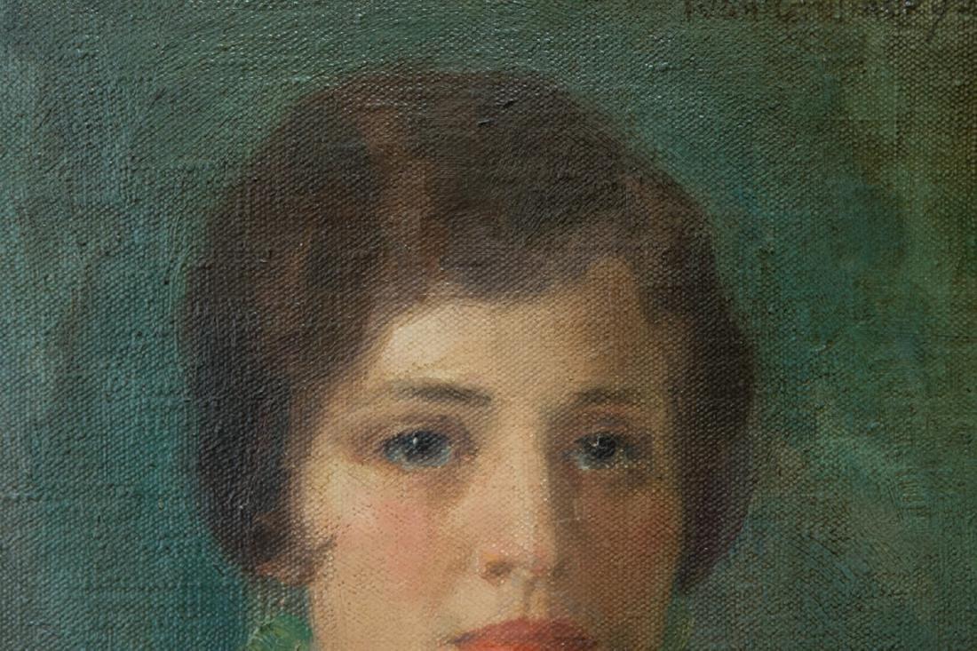 Ivan Olinsky (1878 - 1962) New York Listed Artist Oil - 5