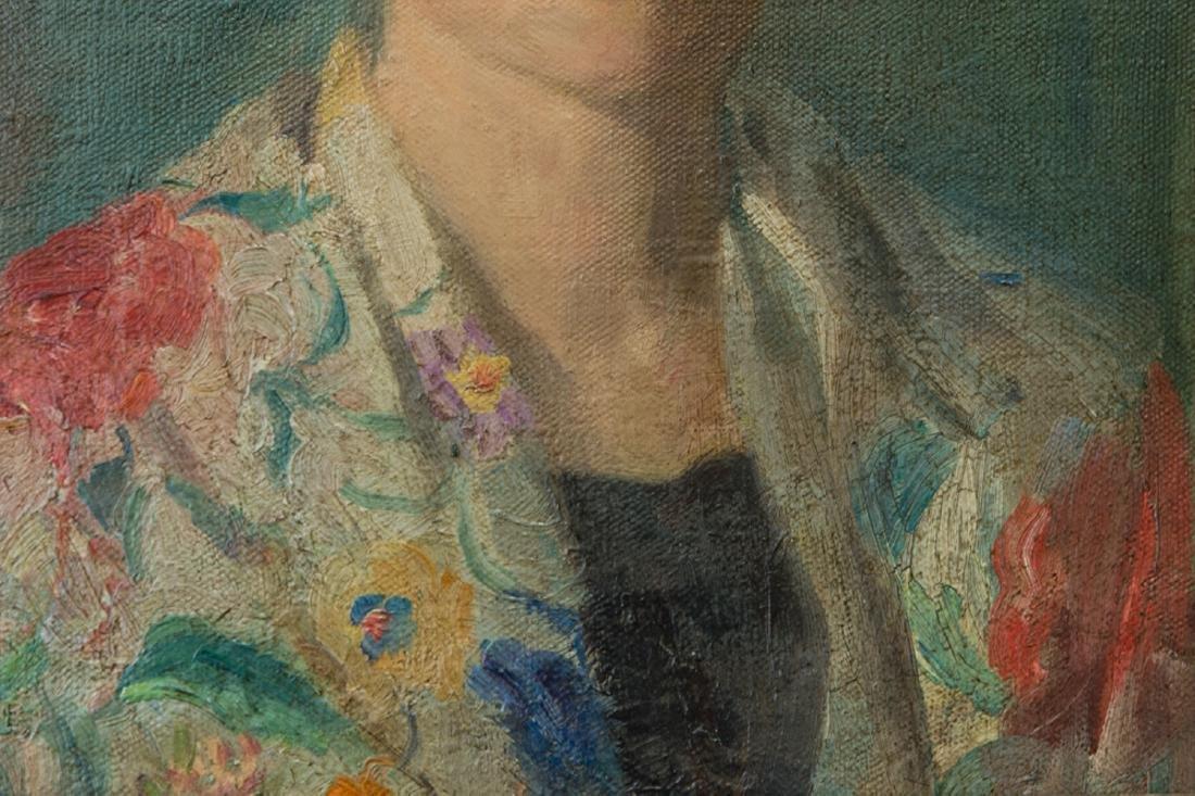Ivan Olinsky (1878 - 1962) New York Listed Artist Oil - 6
