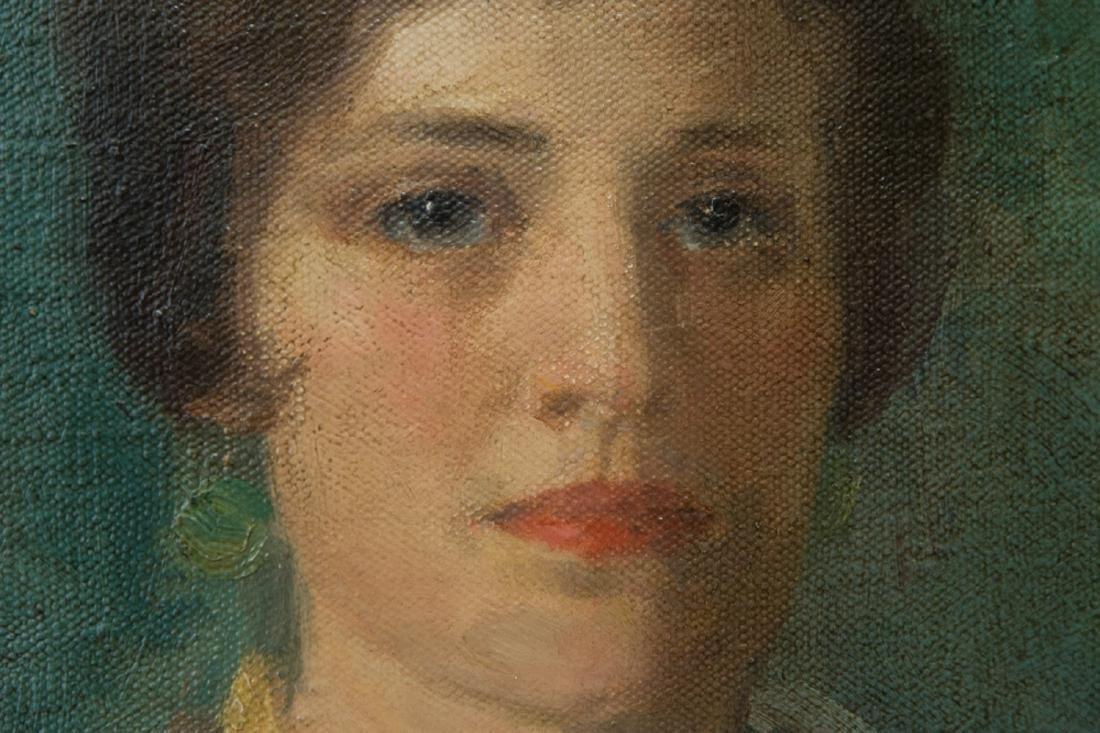 Ivan Olinsky (1878 - 1962) New York Listed Artist Oil - 7
