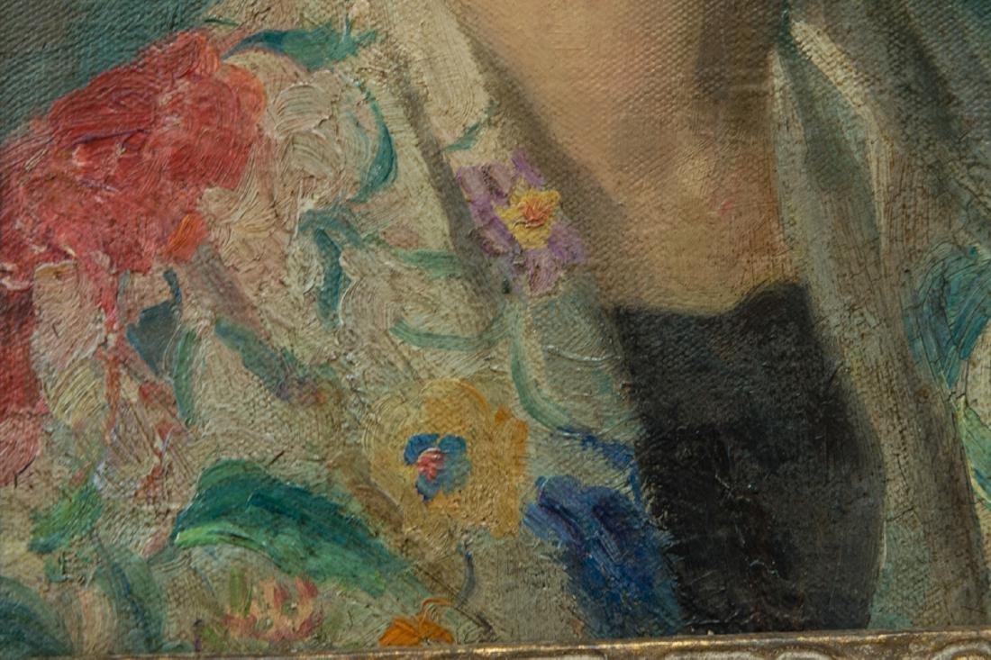 Ivan Olinsky (1878 - 1962) New York Listed Artist Oil - 8