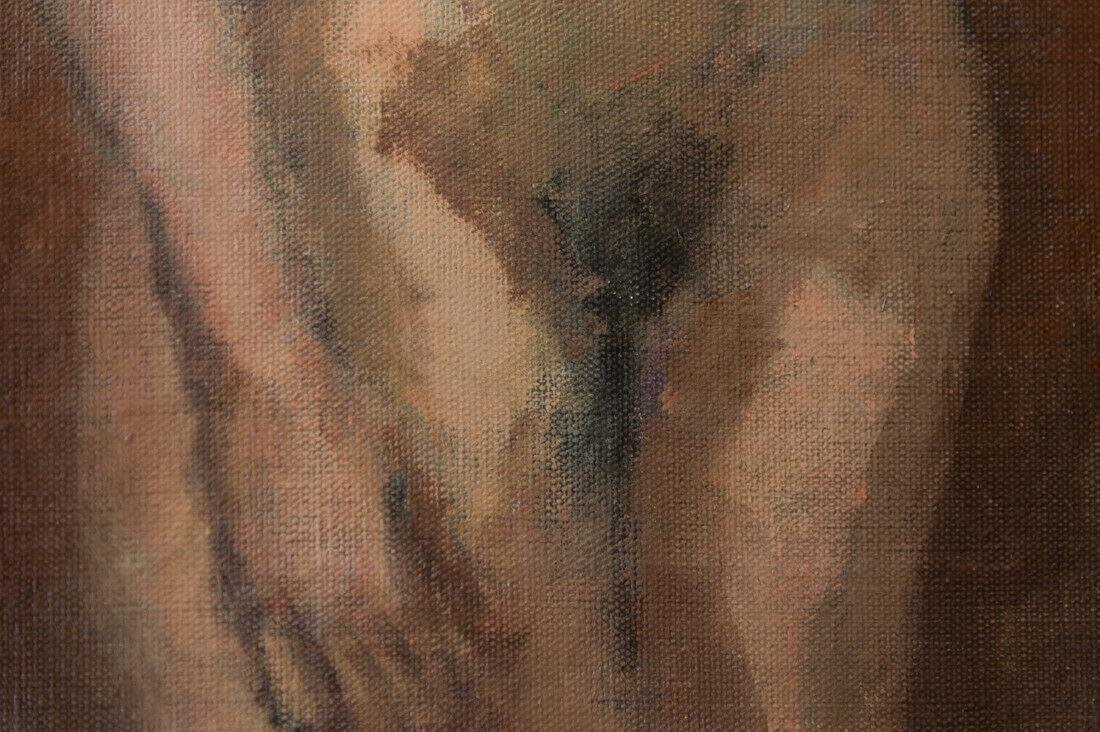 Moses Soyer (1899 - 1974) New York Listed Artist Nude - 10