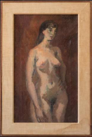 Moses Soyer (1899 - 1974) New York Listed Artist Nude