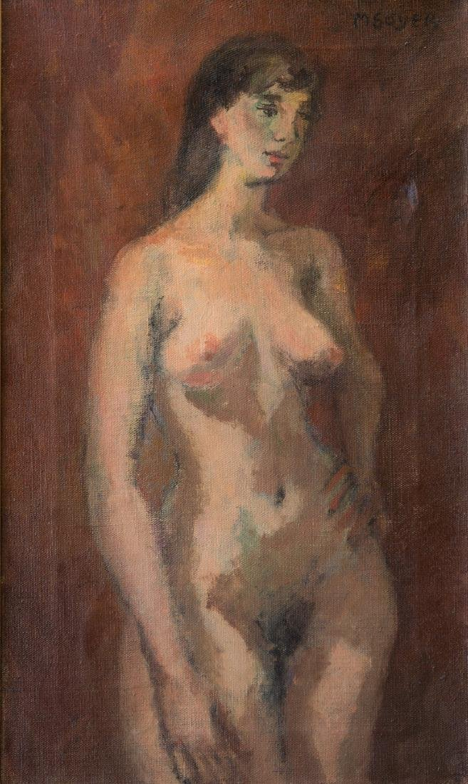 Moses Soyer (1899 - 1974) New York Listed Artist Nude - 2