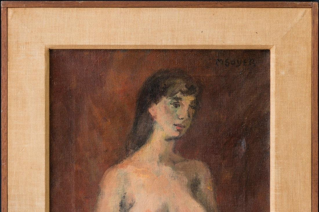 Moses Soyer (1899 - 1974) New York Listed Artist Nude - 3