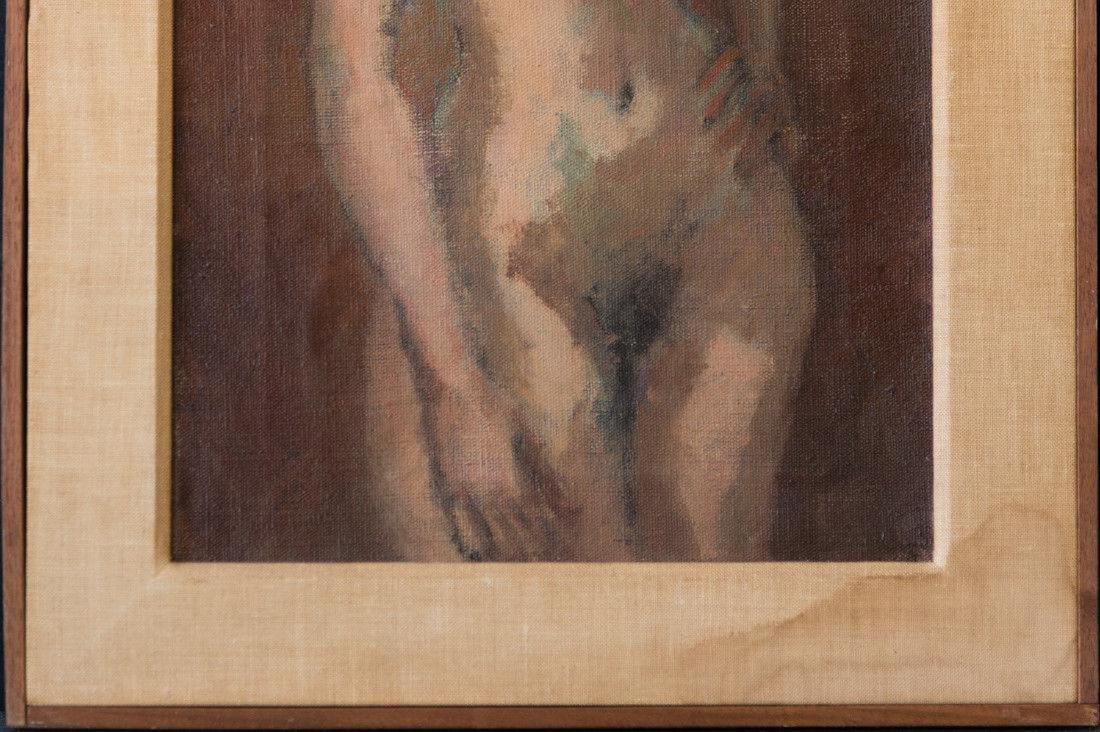 Moses Soyer (1899 - 1974) New York Listed Artist Nude - 4