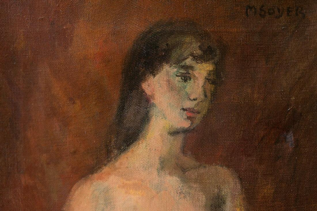 Moses Soyer (1899 - 1974) New York Listed Artist Nude - 5