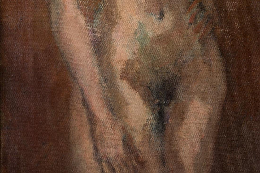 Moses Soyer (1899 - 1974) New York Listed Artist Nude - 6