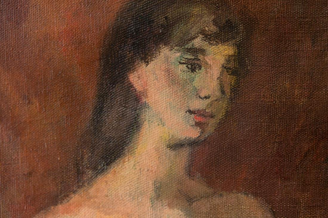 Moses Soyer (1899 - 1974) New York Listed Artist Nude - 7