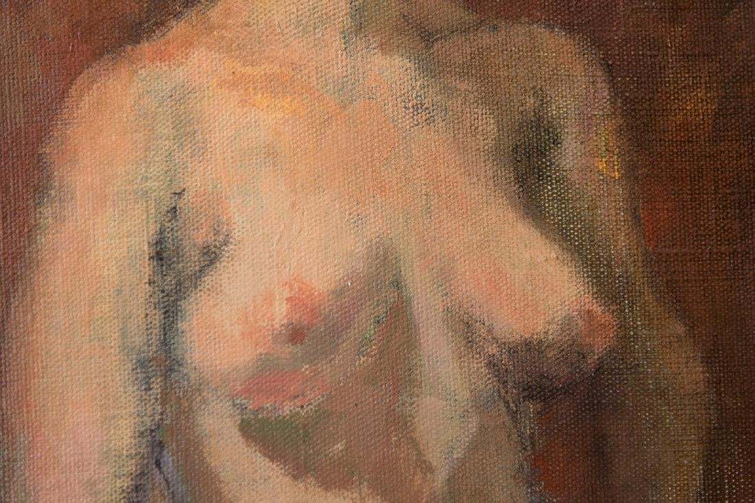 Moses Soyer (1899 - 1974) New York Listed Artist Nude - 8