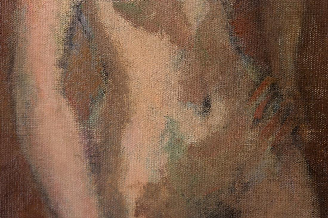 Moses Soyer (1899 - 1974) New York Listed Artist Nude - 9