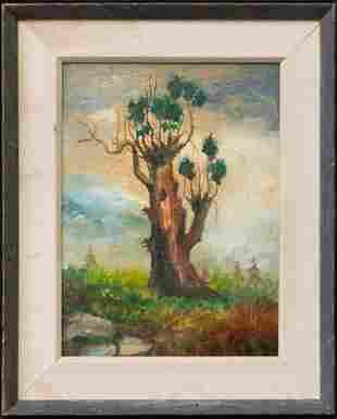 Joseph Stella(1877-1946)NY/Italy,France Listed Artist