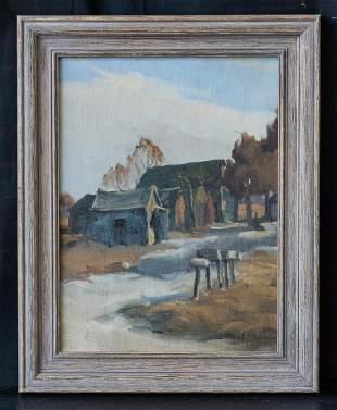 Albert Henry Robinson(1881-1956)Canada Artist