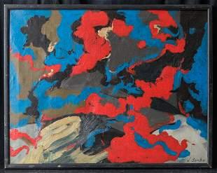 New York Missouri Artist James Brooks 1906-1992