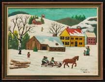 Maud Lewis(1903-1970)Nova Scotia/Canada Artist