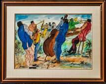 Romare Howard Bearden (New York, North Carolina 1911 -