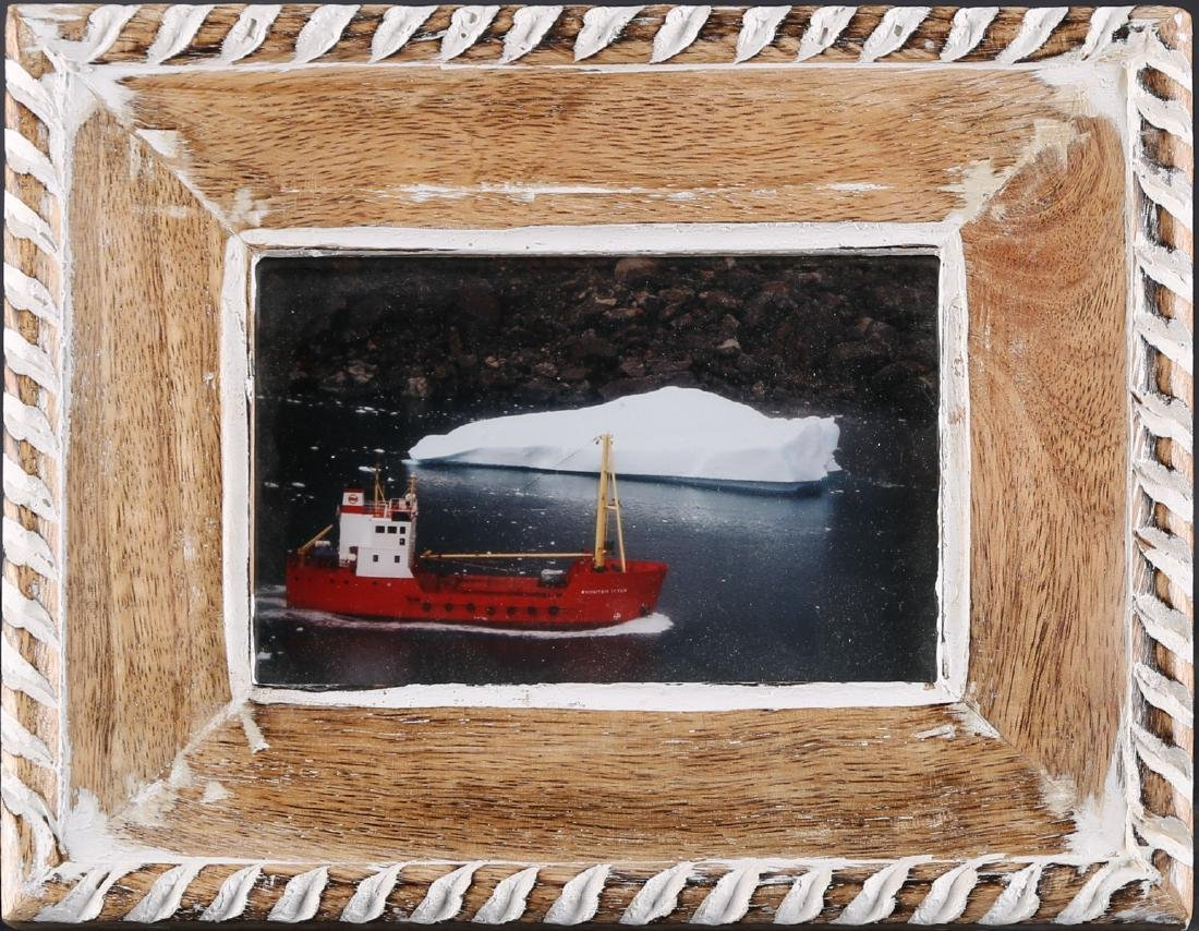 "Vintage Original Photograph ""Fishing-Boat In Polar"""