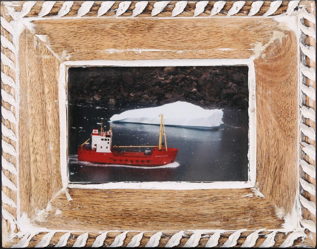 "Vintage Original Photograph ""Fishing-Boat In Polar"" - 3"