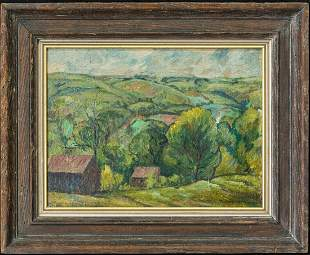 Hale Aspacio Woodruff(1900 - 1980) Georgia, New York