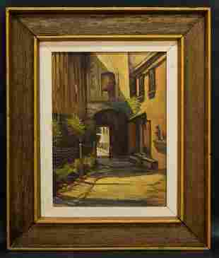 Mexican Listed Artist Jose Richkarday  (20th Century)
