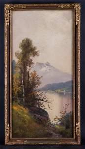 New York Hudson School Artist William Henry Chandler