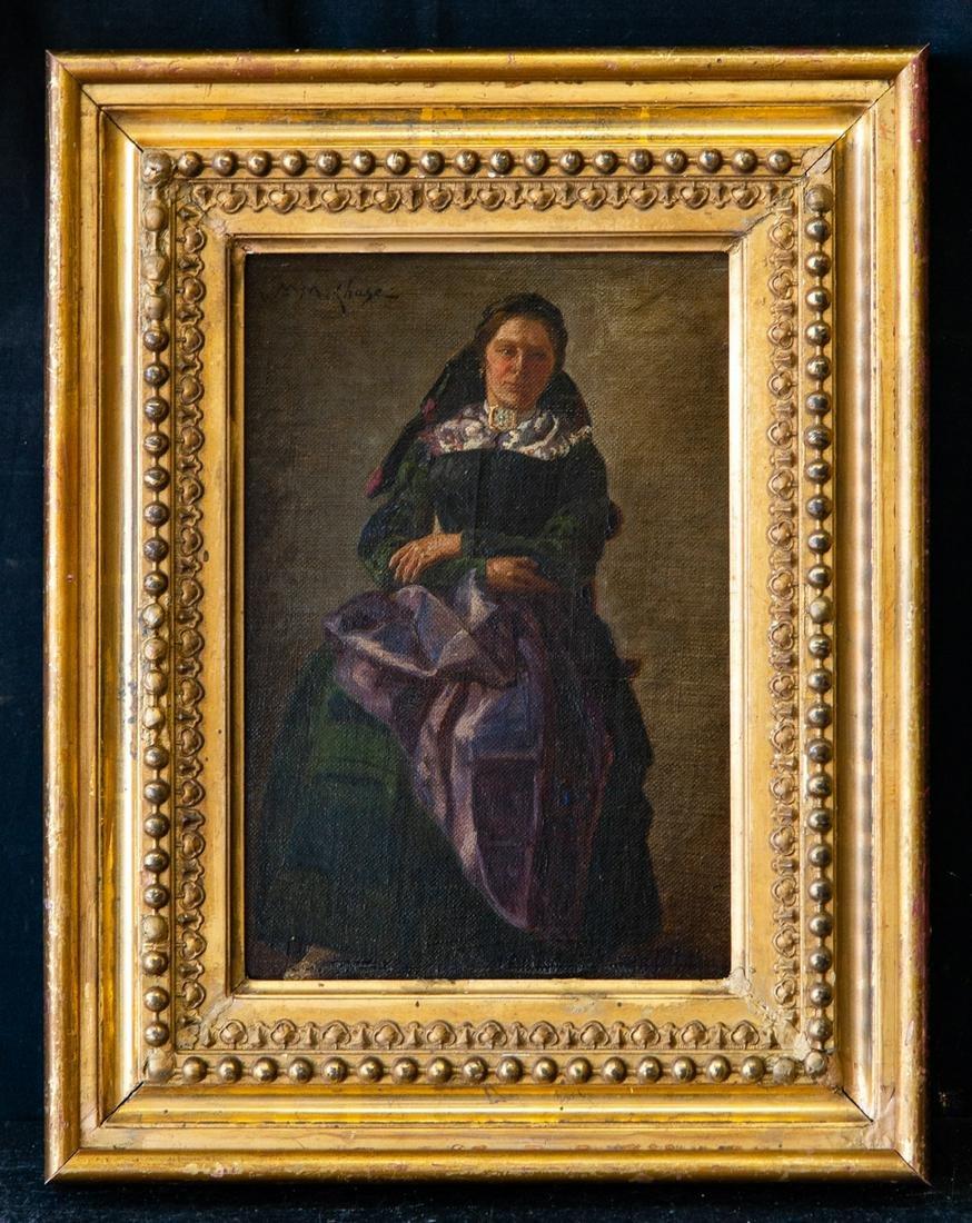 William Merritt Chase (1849 - 1916) NY/CA Artist Oil