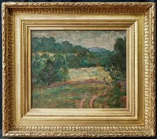 Pierre Bonnard(France 1867-1947)Oil on Artist